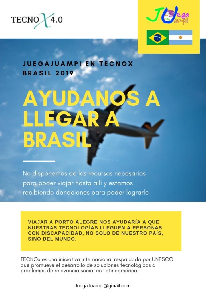ayudanos a llegar a Brasil3